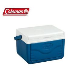 Coleman 4.7 Litre Cool Box Fliplid Compact Personal Lunchbox Picnic Caravan - Small Image