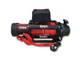 Raptor 4x4 Tyrex 9500lb Winch Synthetic Rope 'Black Edition'