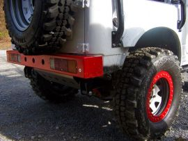 Raptor 4x4 Off Road Suzuki Samurai Rear Alloy Bumper