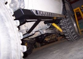 Raptor 4x4 Off Road Squared Rocksliders 80X50 For Toyota KZJ70 / LJ70