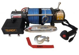 Tyrex Winch 9500 12V Synthetic Rope