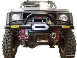 Raptor 4x4 Off Road Front Tubular Winch Bumper Type B With A-Bar Suzuki Samurai