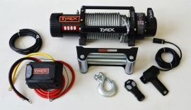 Raptor 4x4 Tyrex 9500lb Winch Wire Rope 'Black Edition'