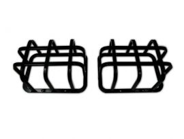 Raptor 4x4 Off Road Rear Squared Lamp Guards Land Rover Defender