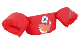 Sevylor Pirate Puddle Jumper Red Arm Band Float Vest Buoyancy Aid - Small Image
