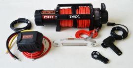 Raptor 4x4 Tyrex 12000lb Winch Synthetic Rope 'Black Edition'