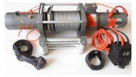 Tyrex Winch Silver 17000LB 12,8hp Twin Motor