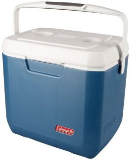Coleman Xtreme Cooling Cool Box Tank 28 QT Blue/White 2015 Camping  - Small Image