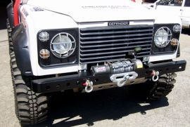 Raptor 4x4 Off Road Front HD Winch Bumper Land Rover Defender