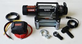Raptor 4x4 Tyrex 12000lb Winch Wire Rope 'Black Edition'