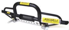 Raptor 4x4 Off Road Tubular Winch Bumper Type C Land Rover Defender
