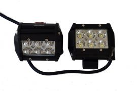 Raptor 4x4 Rectangular lights