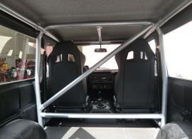 Raptor 4x4 Off Road Internal Roll Cage For Mercedes G