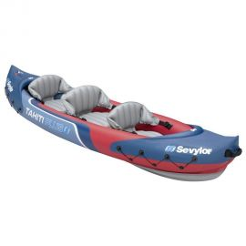 Sevylor 3 Person Tahiti 2 Plus 1 Inflatable Kayak Backpack System - Small Image