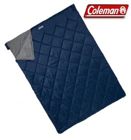 Coleman Durango Sleeping Bag Double Camping Caravanning Home - Small Image