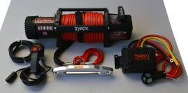 Raptor 4x4 Tyrex 13000lb Winch Synthetic Rope 'Black Edition'