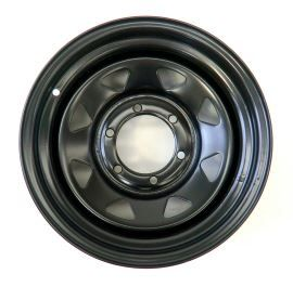 Tyrex Steel Wheel 7x15 -20 Black For Toyota Land Cruiser