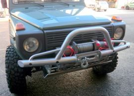 Raptor 4x4 Off Road Winch Bumper With A-Bar Mercedes G