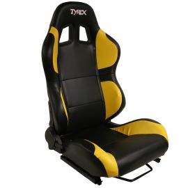 Tyrex Sports Seat Black And Yellow