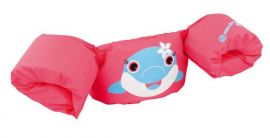 Sevylor Dolphin Puddle Jumper Pink Arm Band Float Vest Buoyancy Aid - Small Image