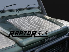 Land Rover Defender Bonnet Chequer Plate 3mm