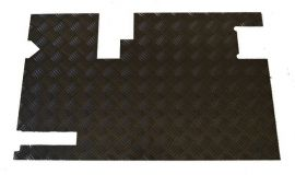 Land Rover Defender Rear Door Card Chequer Plate Black