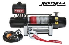 ComeUp DV-12 Light 12000lb 12v Winch - Steel Rope