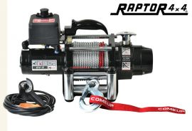 ComeUp DV-6 12v 6000lb Standard Drum Winch - Steel Rope