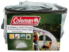 Coleman Event Shelter Pro L Sunwall Door Silver