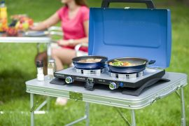 Series 400 SG Double Burner & Grill Plus FREE Campingaz 907 Cylinder