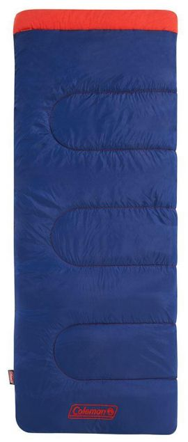 Coleman Heaton Peak Junior Rectangular Sleeping Bag - Small Image