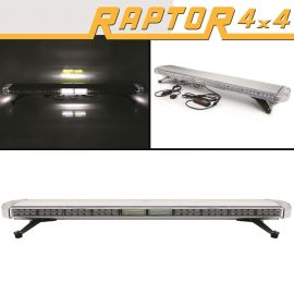 Raptor 4x4 Amber Recovery Light Bar 88 LED 88w Flash Strobe Takedown Alley