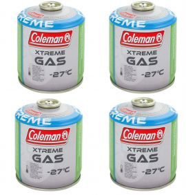 Coleman Extreme Gas C300 x4 Canisters