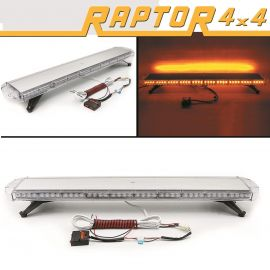 Raptor 4x4 Amber Recovery Light Bar 88 LED 88w Flash Strobe