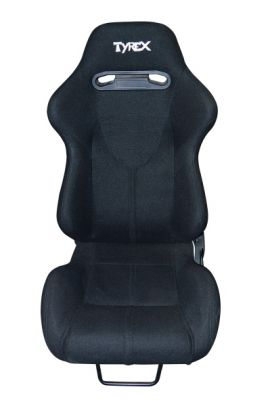 Tyrex Sports Bucket Seat Black Fabric